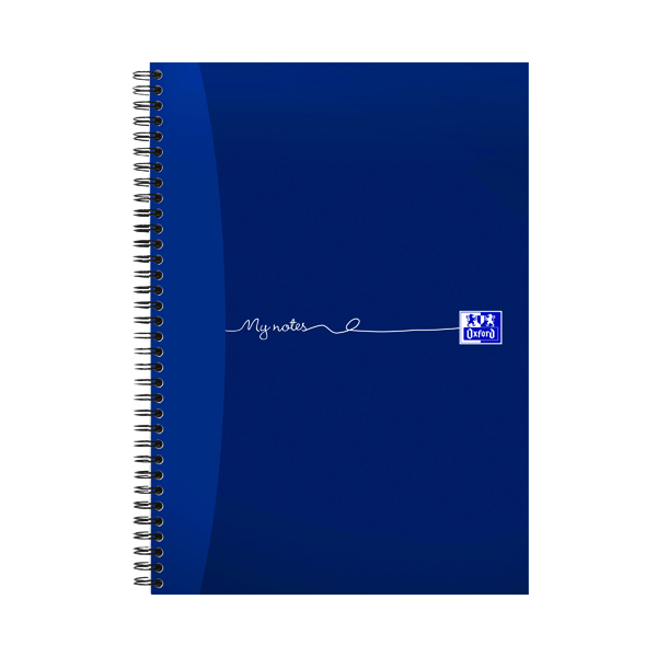 Oxford My Notes A4 Wirebound Notebook 100 Pages (5 Pack) 400020193