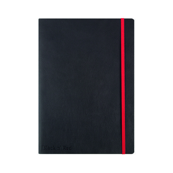 Black n' Red B5 Black Soft Cover Notebook 400051203