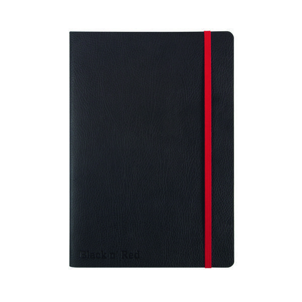 Black n' Red A5 Black Soft Cover Notebook 400051204