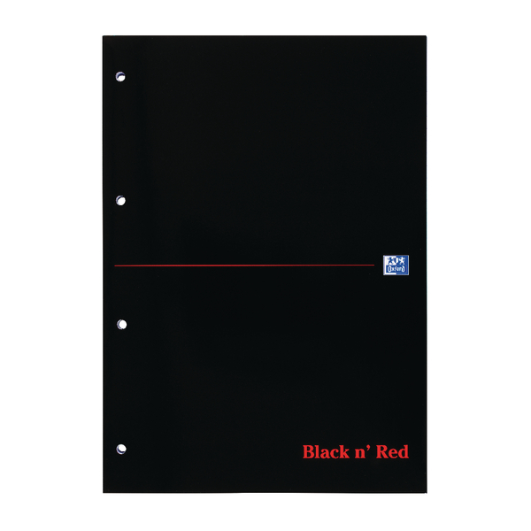 Black n' Red A4 Executive Refill Pad Ruled Margin 300 Pages (3 Pack) 400051565