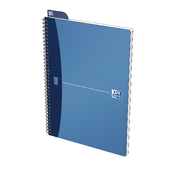 Oxford Office A4 Blue Metallic Notebook (5 Pack) 400051876