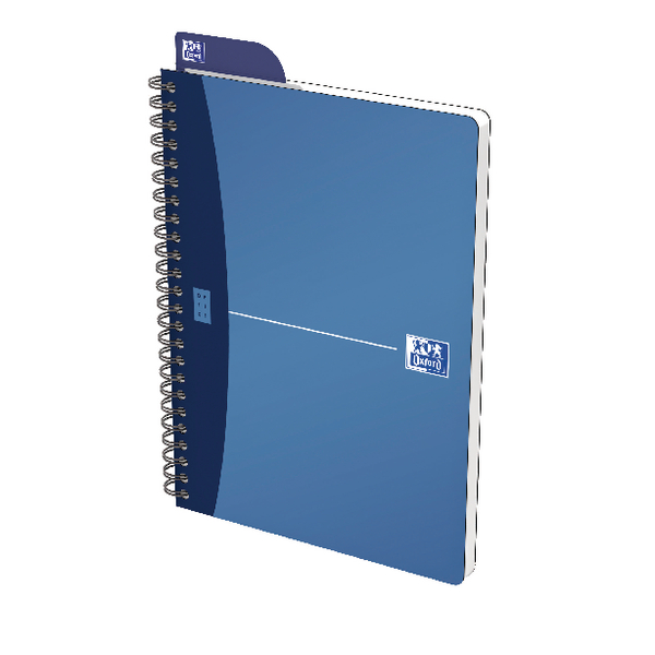 Oxford Office A5 Blue Metallic Notebook (5 Pack) 400051961