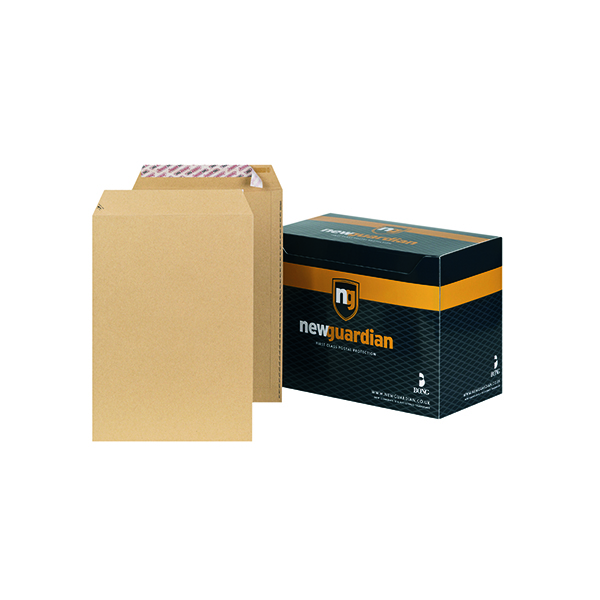 New Guardian C4 Envelope 130gsm Peel and Seal Manilla (250 Pack) J26339