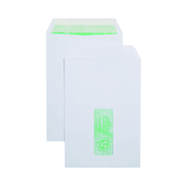 Basildon Bond C5 Window Envelope 120gsm Peel and Seal White (500 Pack) J80119