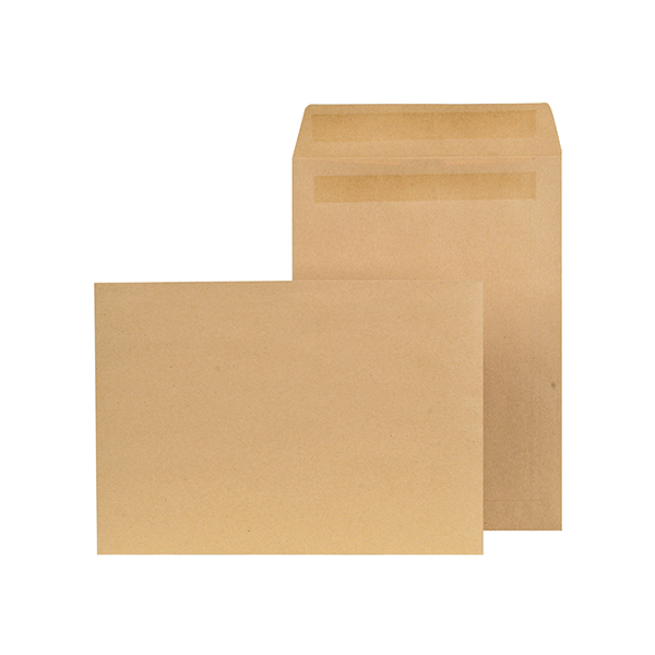 New Guardian C4 Envelope Self Seal 90gsm Manilla (250 Pack) K26309