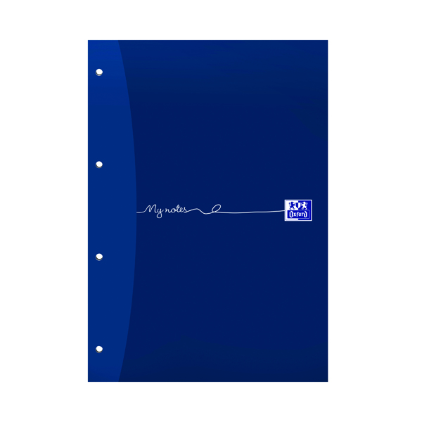 Oxford My Notes A4 Refill Pad Ruled Margin 160 Pages Headbound (5 Pack) 846400177