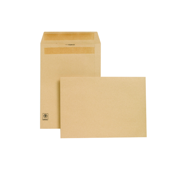 New Guardian C4 Envelope 130gsm Manilla Self Seal (250 Pack) L26303