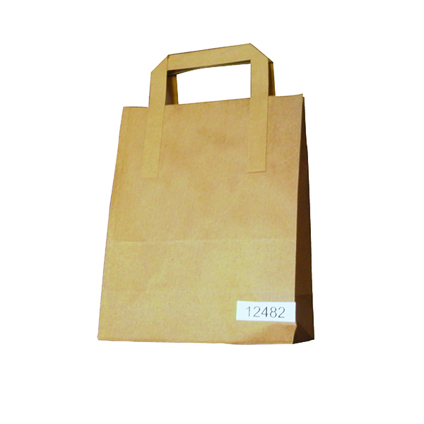 Paper Takeaway Bag Brown (250 Pack) BAG-SPIC01-A