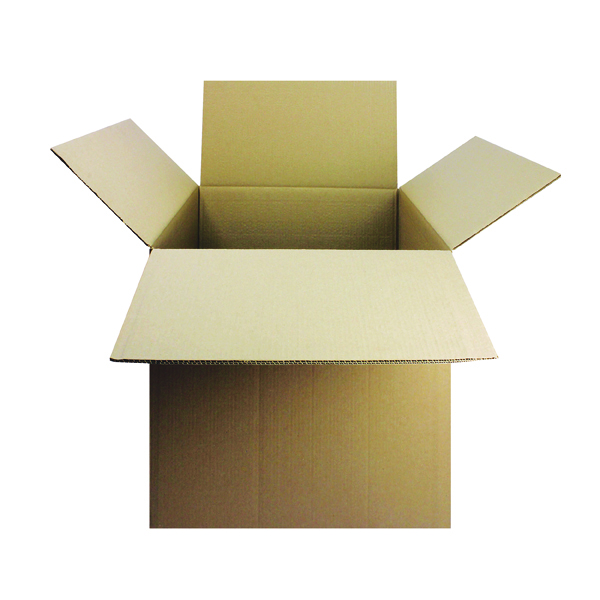 Double Wall Corrugated 457 x 305 x 305mm Brown Cardboard Boxes (15 Pack) SC-64