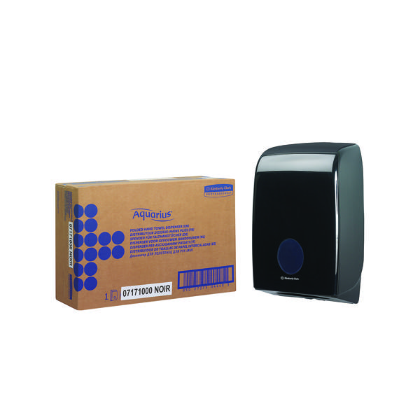 Aquarius Black Hand Towel Dispenser 7171