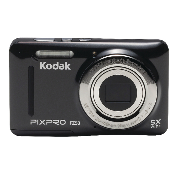 Kodak PIXPRO Zoom FZ53 Digital Camera FZ53-BK