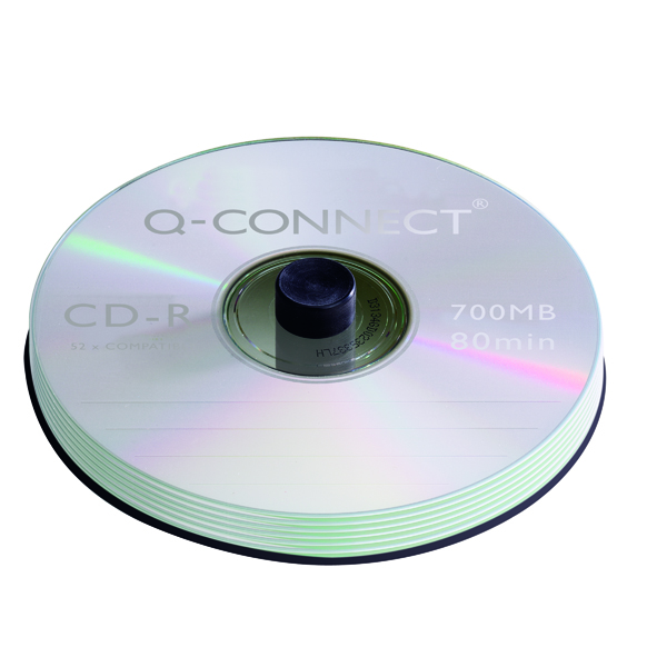 Q-Connect CD-R 700MB/80minutes Spindle (50 Pack) KF00421