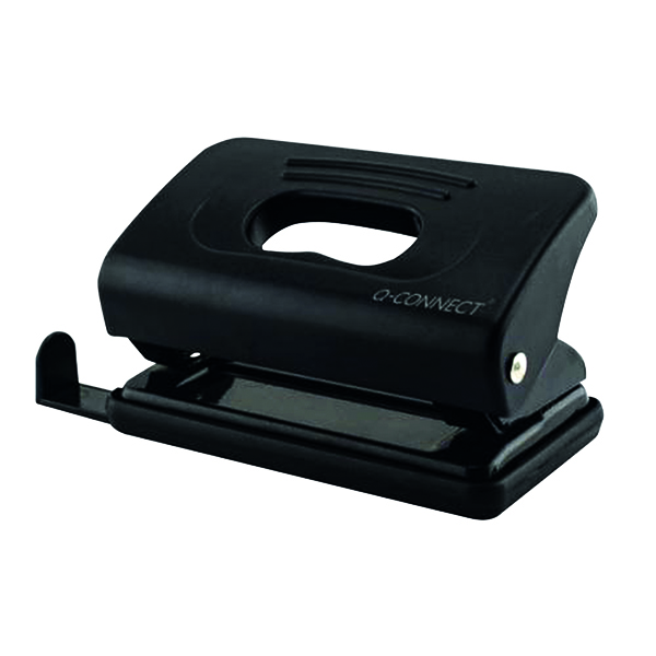 Q-Connect Light Duty Black Hole Punch 875
