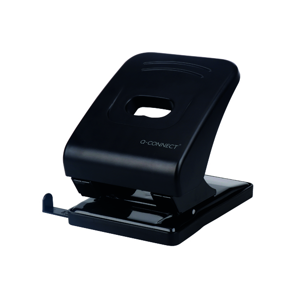 Q-Connect Heavy Duty Black Hole Punch KF01236