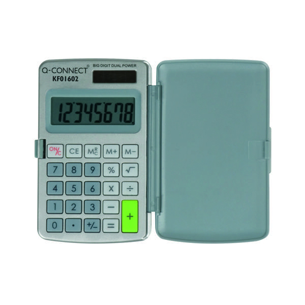 Q-Connect Pocket Calculator 8-Digit KF01602
