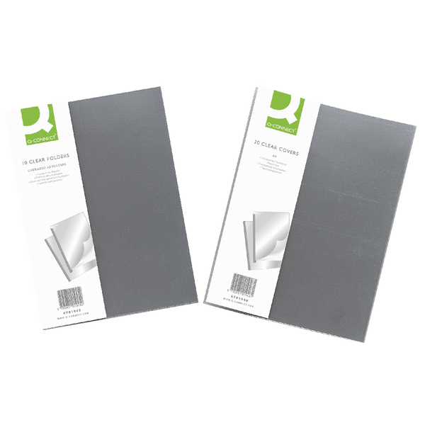Q-Connect Clear A3 Binding Folder (10 Pack) KF01945