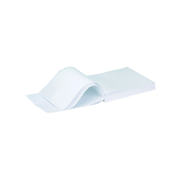 Q-Connect Listing Paper 11 x 9.5 Inches 3-Part NCR Perforated Plain (700 Pack) KF02709