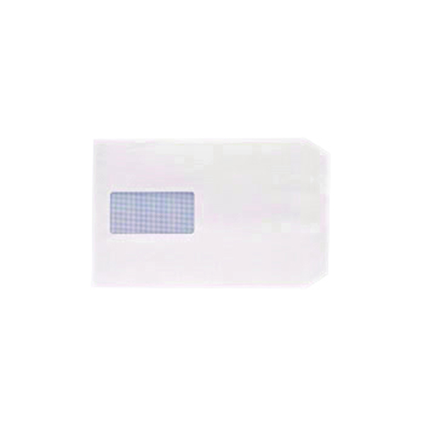 Q-Connect C5 Envelope 100gsm Window Peel and Seal White (500 Pack) 1P53
