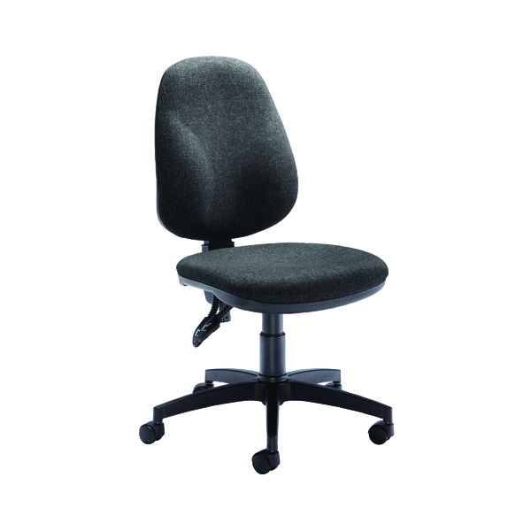 Arista Concept High Back Permanent Contact Operator Charcoal Chair KF03457
