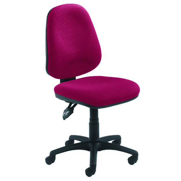 Arista Concept High Back Permanent Contact Operator Claret Chair KF03458