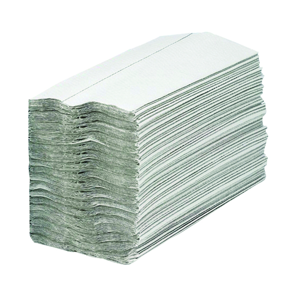2Work 1-Ply C-Fold Hand Towels White (2880 Pack) HC128WHVW