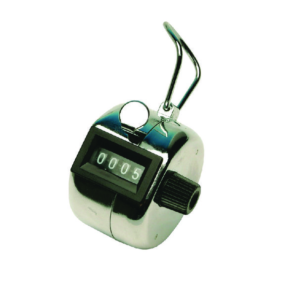 Q-Connect Chrome Tally Counter KF10860
