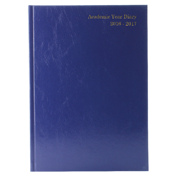 Academic Diary Day Per Page 2016/17 A5 Blue (Pack of 1) KF1A5ABU16