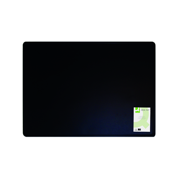 Q-Connect 400x530mm Black Desk Mat KF26802