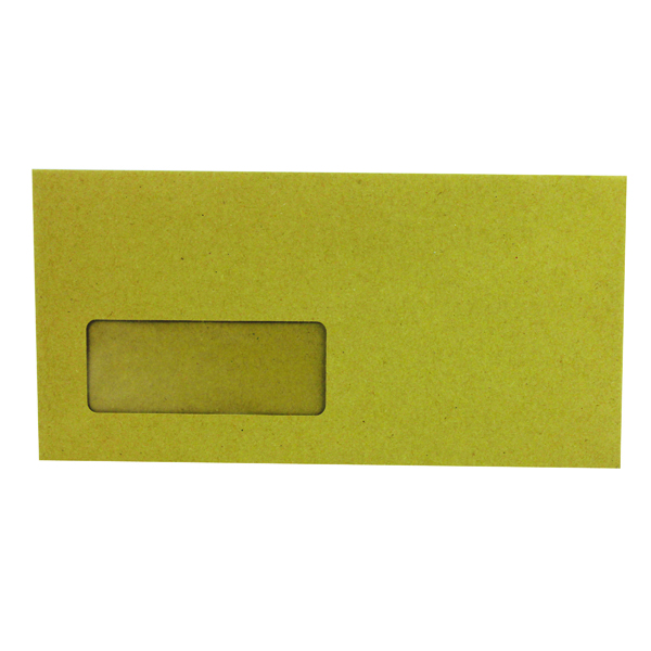 Q-Connect DL Window Envelope 70gsm Manilla Gummed (1000 Pack) KF3423