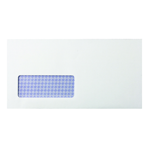 Q-Connect DL Window Envelope 80gsm Self Seal White (1000 Pack) KF3455