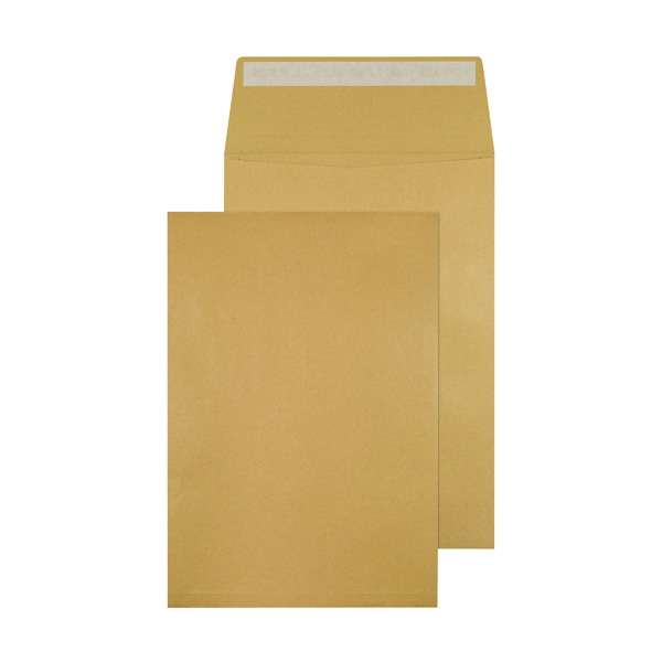 Q-Connect 324 x 229 x 25mm Manilla Gusset Envelope (100 Pack) KF3527
