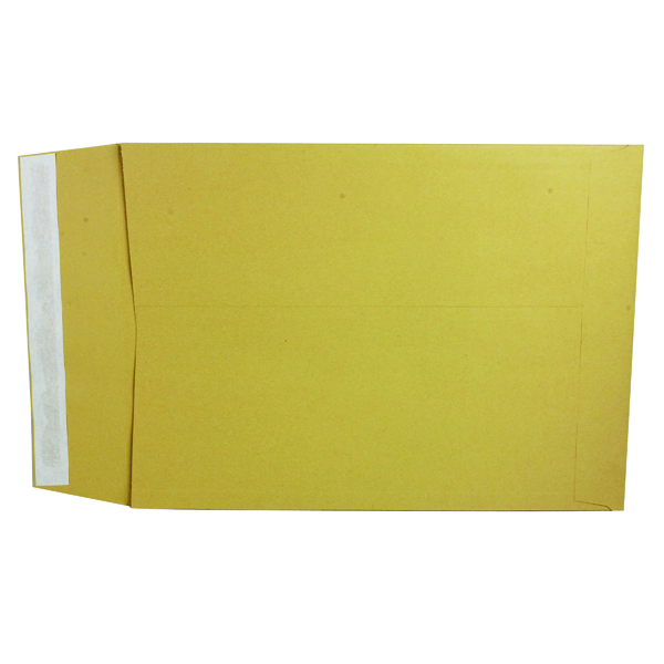 Q-Connect 381 x 254 x 25mm Manilla Gusset Envelope (100 Pack) KF3528