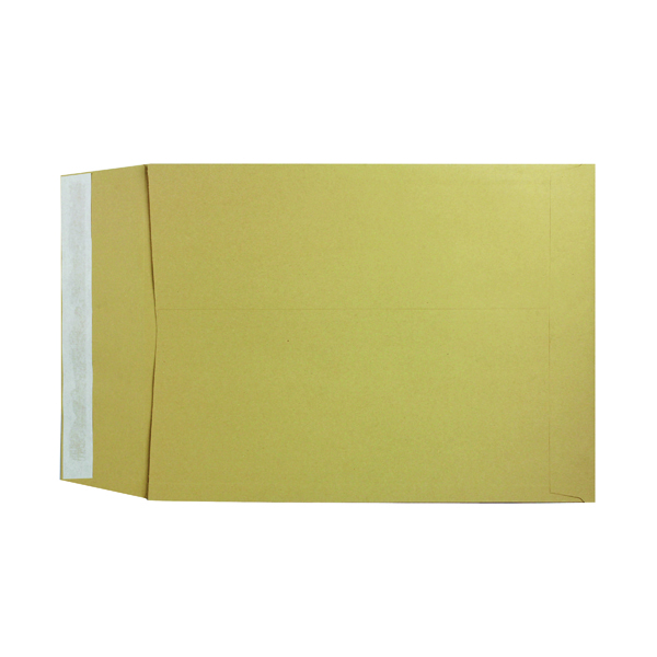 Q-Connect 406 x 305 x 25mm Manilla Gusset Envelope (100 Pack) KF3529