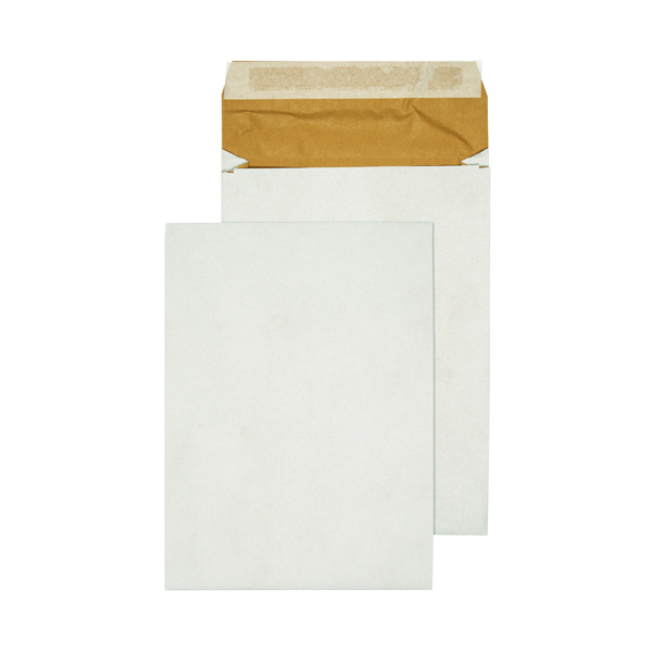 Q-Connect Padded 324 x 229 x 50mm Peel/Seal C4 Gusset Envelope (100 Pack) KF3531