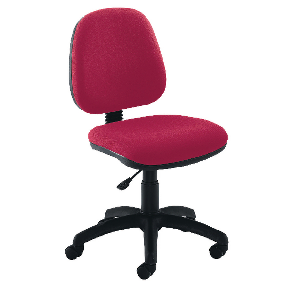 Jemini Medium Back Operator Claret Chair KF50170