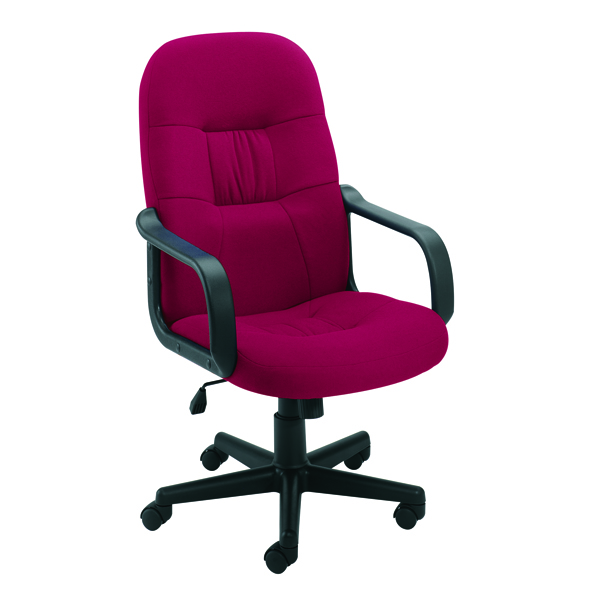Jemini High Back Manager Claret Chair KF50179