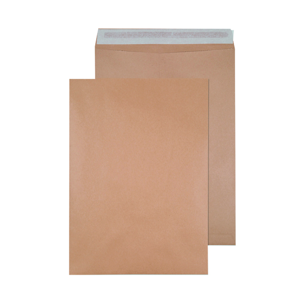 Q-Connect Envelope 458 x 324mm 135gsm Self Seal Manilla (125 Pack) 9011004