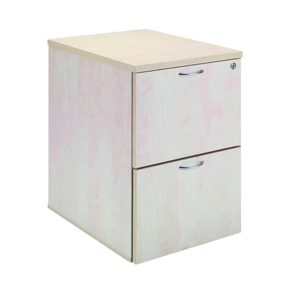 Jemini Maple 2 Drawer Filing Cabinet KF71957