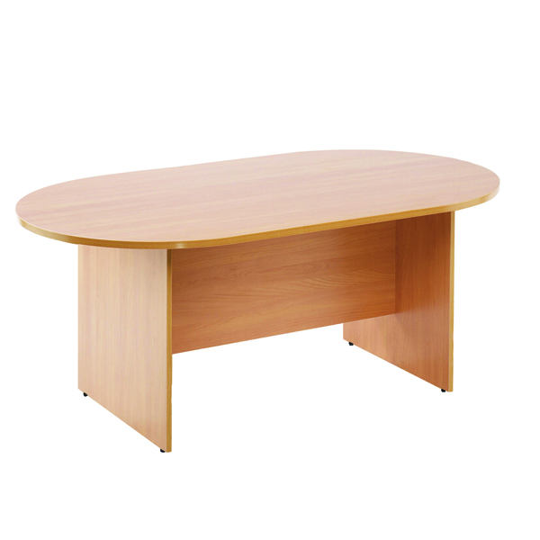 Arista Beech Rectangular 1800mm Meeting Table KF72039
