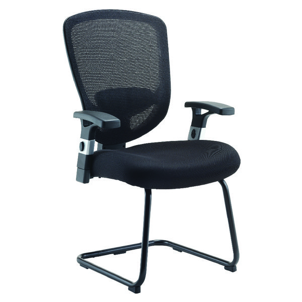 Arista Mesh Visitor Black Chair KF72247