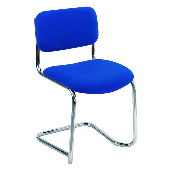 Arista Blue Cantilever Leg Meeting Chair (Pack of 1) CH0501