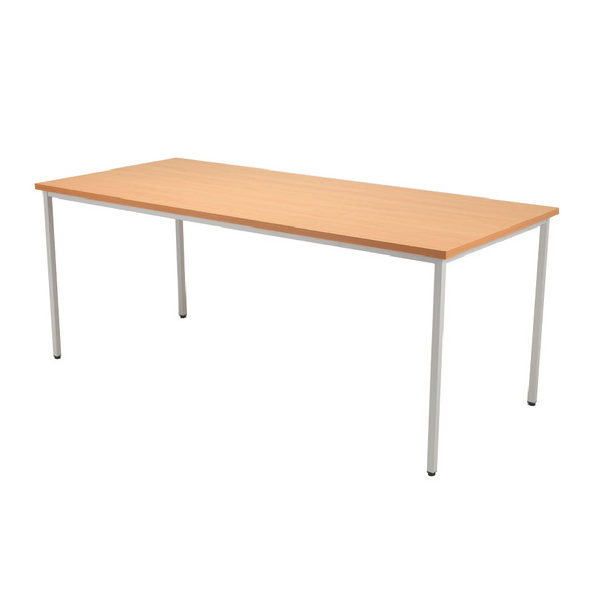 Jemini 1200x800mm Beech Rectangular Table KF72370