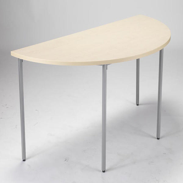 Jemini Maple 1600mm Semi-Circular Table KF72384