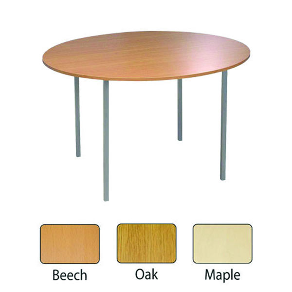 Jemini 1200mm Beech Circular Table KF72385