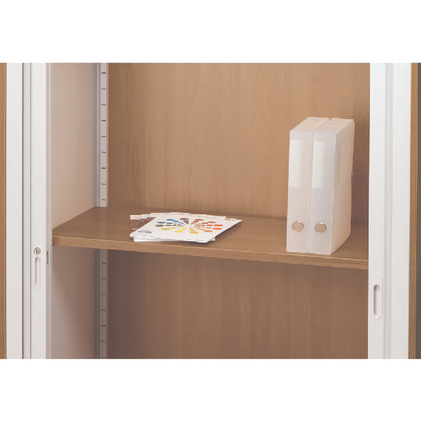 Arista Oak Adjustable Wooden Shelf KF72419