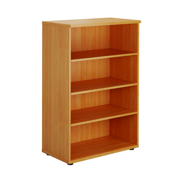 Jemini Bavarian Beech 1200mm Medium Bookcase KF73512