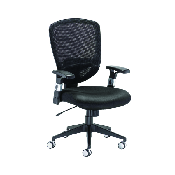Arista Fusion Black High Back Mesh Chair With Lock and Tilt KF73906