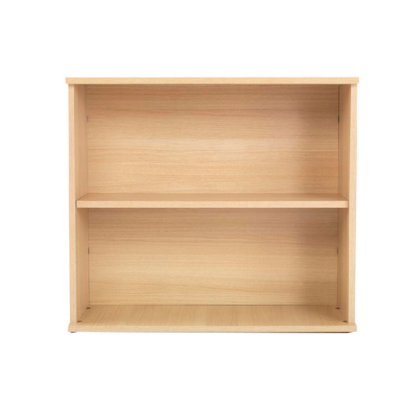 Jemini Intro 800mm Ferrera Oak Desk High Bookcase KF74131