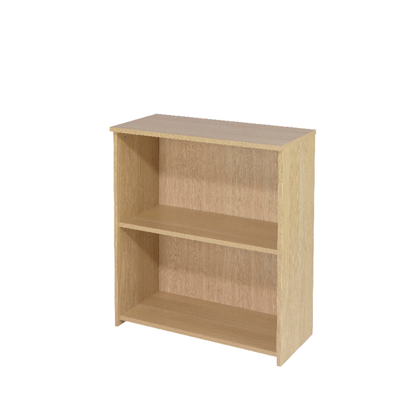 Jemini Intro 800mm Warm Maple Desk High Bookcase KF74132