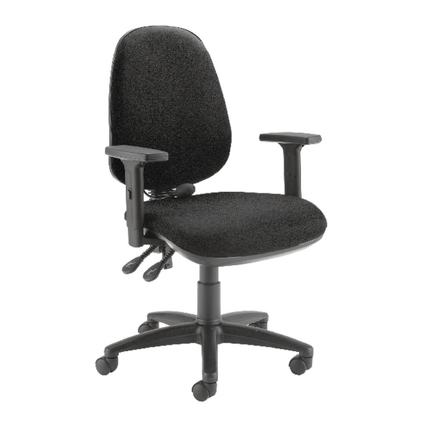 Capella Intro Posture Chair With Lumbar Support Black KF74283